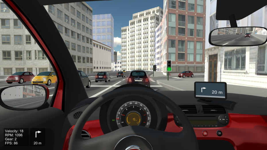 Car Simulator Games >> Adaptive Tutoring On A Virtual Reality Driving Simulator